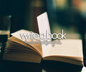 book, girl, and love image