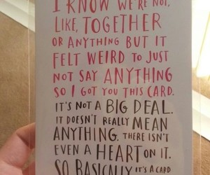 card, quote, and valentine image