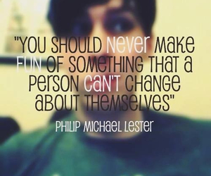 quote, amazingphil, and phil lester image