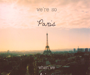 eiffel, hipster, and kiss image