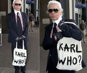 bag, chanel, and karl lagerfeld image