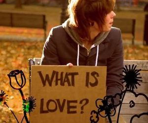 what is love, christofer drew, and never shout never image