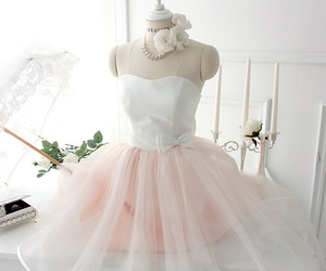classy, pink, and white image