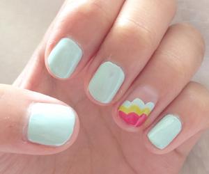 green, nails, and opi image