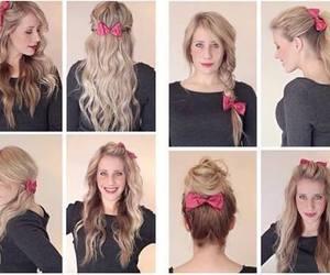 bow, nice, and fashion image