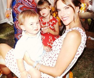 alessandra ambrosio, beautiful, and family image