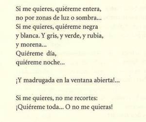 love, quiereme, and frases image