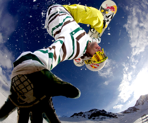 snowboarding, photography, and snow image
