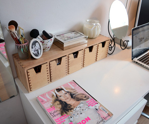 vogue, room, and pink image