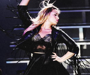 demi, girl, and stay strong image