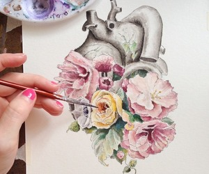 anatomy, aquarelle, and bmth image