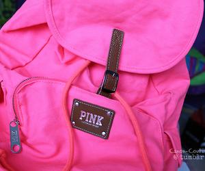 pink, bag, and love pink image