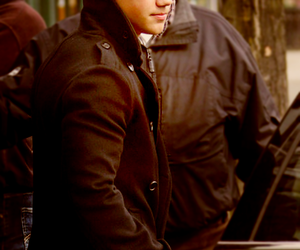 pea coat, sex, and Taylor Lautner image