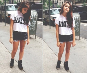 fashion, andrea russett, and beauty image