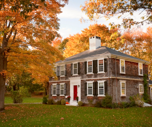 cape cod and fall image