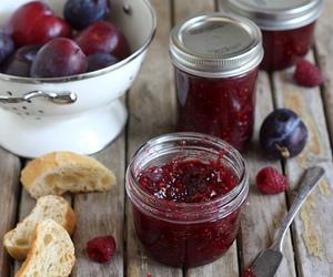 berries, jam, and sweet image