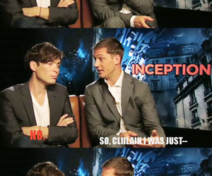 cillian murphy, funny, and tom hardy image