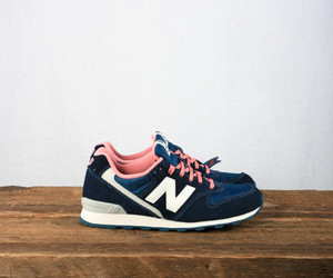 shoes, new balance, and pink image