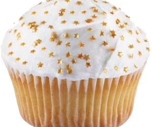 cupcake, stars, and food image