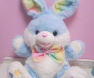 cute, bunny, and pastel image