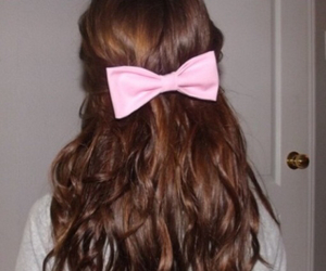 bow, brunette, and fashion image