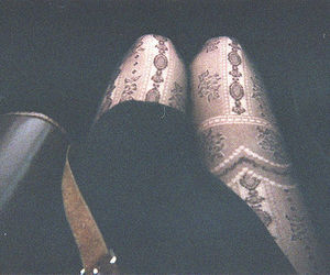 legs, vintage, and tights image