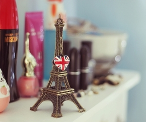 paris, eiffel tower, and england image