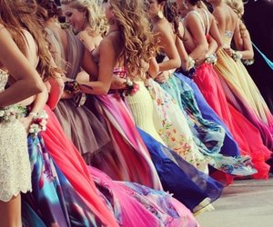 dresses, fashion, and girls image
