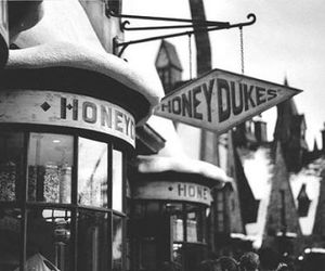 black, honey, and candy shop image