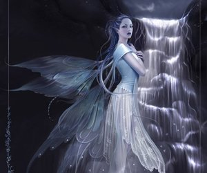 Fairies, fairy, and water image