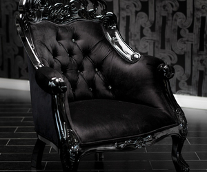 black and chair image