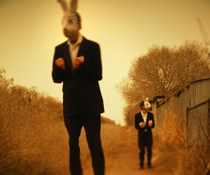 mask and rabbit image