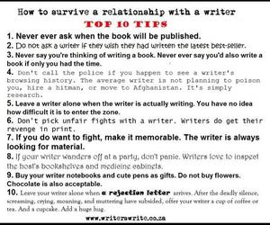 guide, Relationship, and writer image