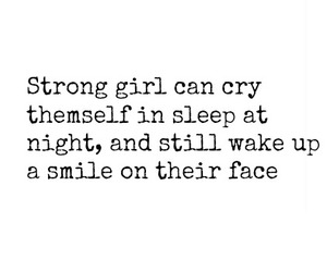 cry, smile, and girls image