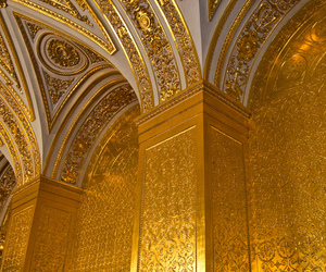 gold, architecture, and art image