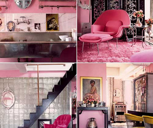 edgy, girly, and interior design image