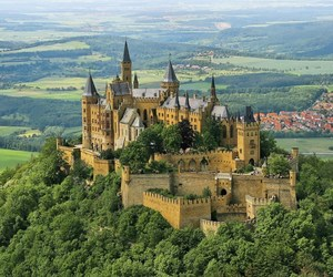 castle, germany, and architecture image