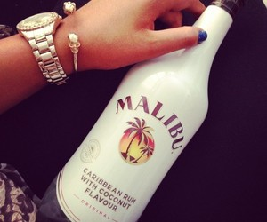 malibu, drink, and watch image