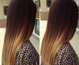 girl and ombre image