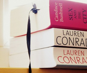 books, lauren conrad, and sex and the city image