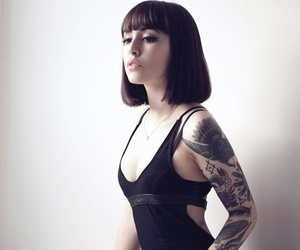 tattoo, hannah snowdon, and sexy image
