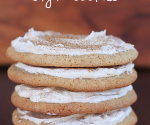 Cookies, sugar cookies, and cream cheese image