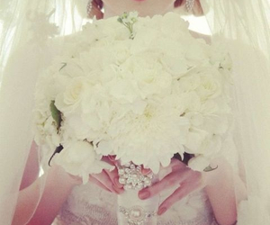 wedding dress and love image