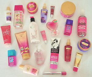 pink, girly, and Victoria's Secret image