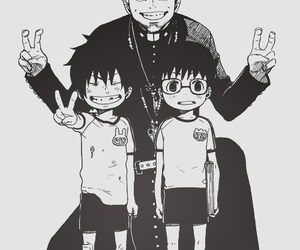 ao no exorcist, manga, and rin image