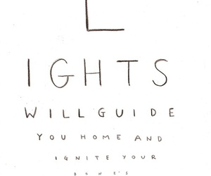 coldplay, light, and quotes image