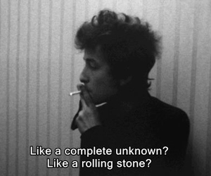 bob dylan and quote image