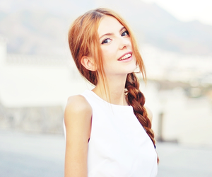 girl, girly, and redhair image