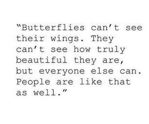 beautiful, butterflies, and people image