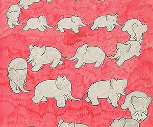 elephant, animals, and art image